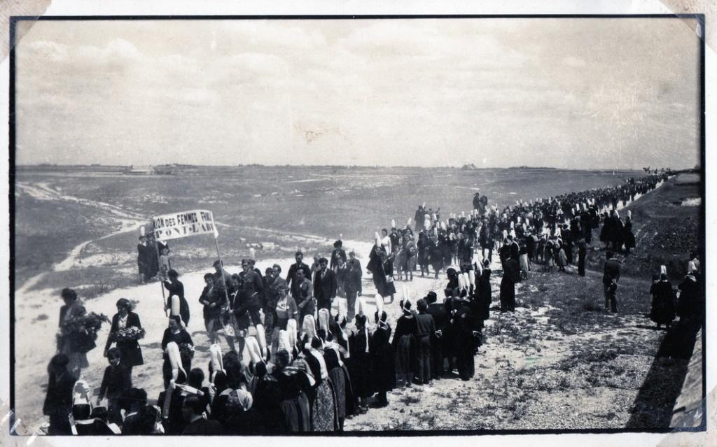 Plobannalec, la délégation Pont L'Abbiste
